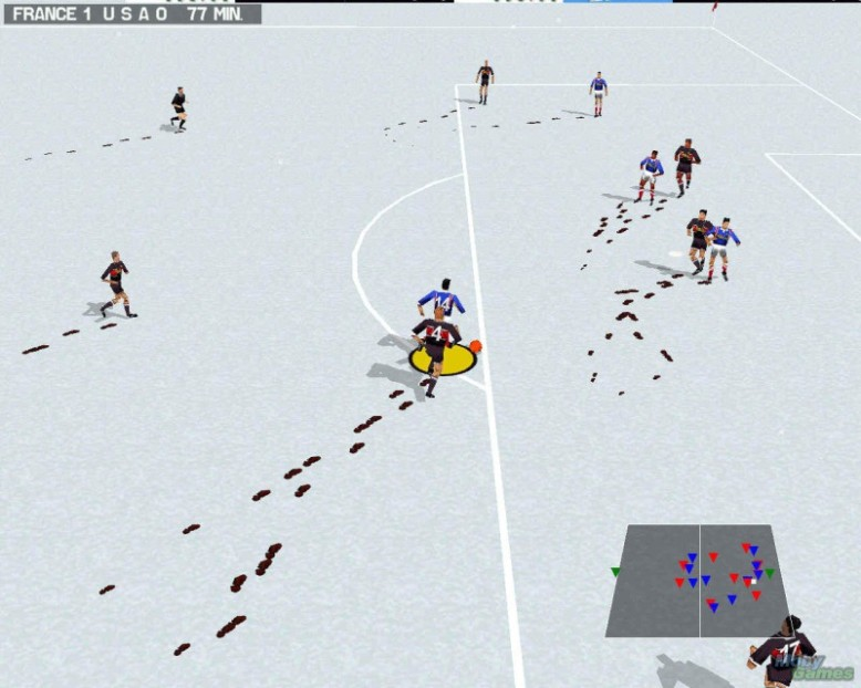 and it had the best snow effects in any game ever.