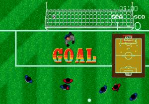 'NOOOOOOOO' the goalie screams, dropping to his knees.